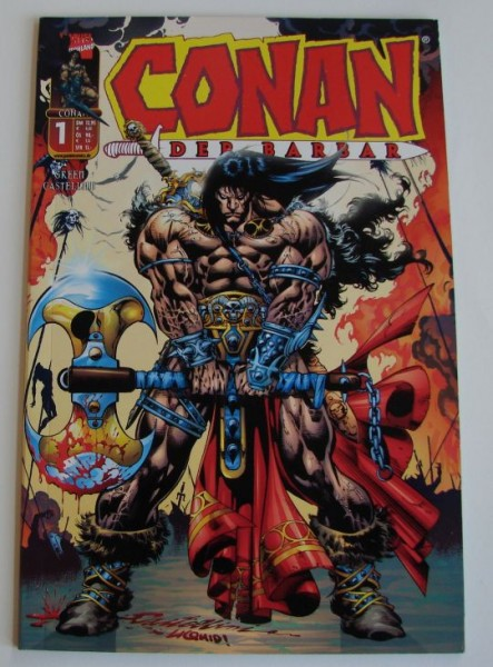 Conan (Panini, Br., 2001) Nr. 1-7