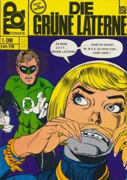 Top Comics (BSV, Gb.) Grüne Laterne Nr. 100-121