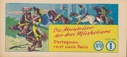 Abenteuer der drei Musketiere (Mohr, picc.) Nr. 1-3