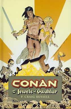US: Conan and the Jewels of Gwahlur HC