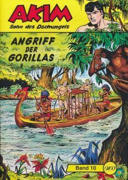 Akim Sohn des Dschungels Großband 10