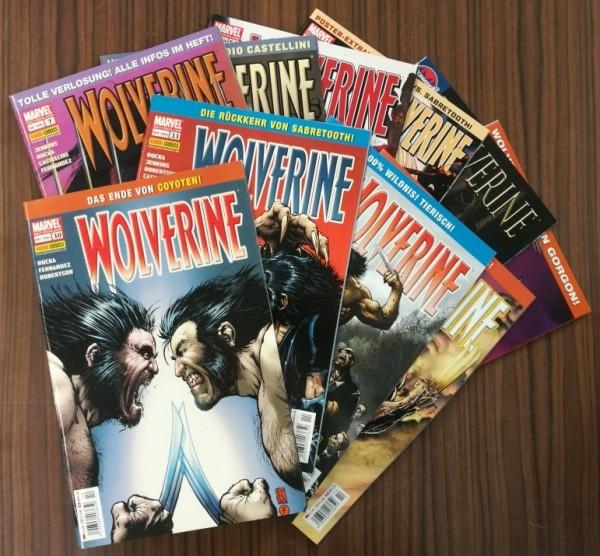 Paket 3721 10 verschiedene Wolverine (Panini, Gb., 2004) (Z1-2)
