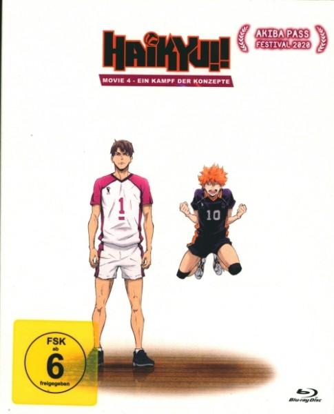 Haikyu!! Movie 4 Blu-ray