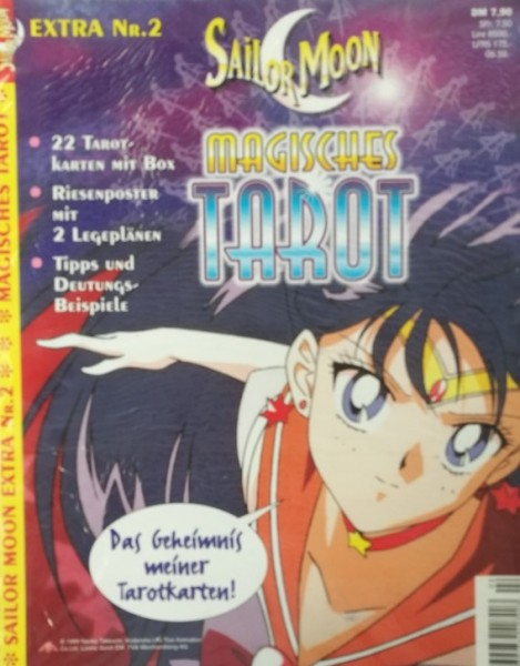 Sailor Moon Extra (Ehapa, GbÜ.) mit Beilage Nr. 1-3