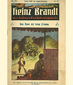 Heinz Brandt (Mignon, VK) der Fremdenlegionär Nr. 201-300 Vorkrieg