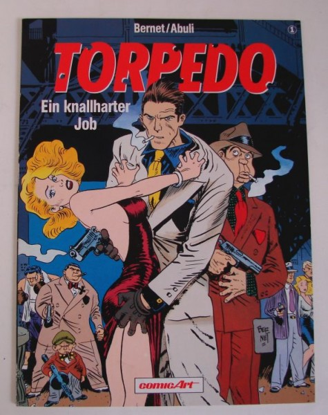 Torpedo (Carlsen, Br.) Nr. 1-5 kpl. (Z1-2)