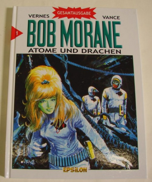 Bob Morane Gesamtausgabe (Epsilon, B.) Nr. 1-4 kpl. (Z1-2)