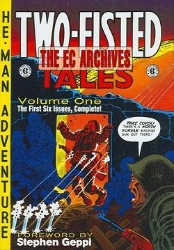 EC Archives Two Fisted Tales HC ab Vol.1