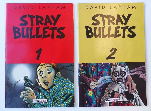 Stray Bullets (Schwarzer Turm, Gb) Nr. 1-22 kpl. (Z0-2)