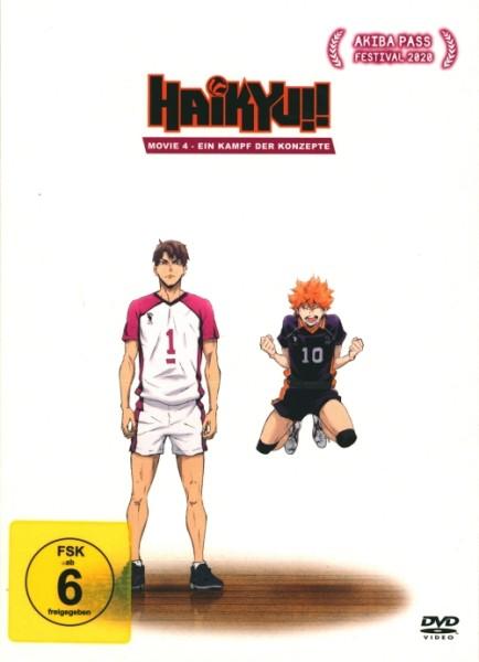 Haikyu!! Movie 4 DVD