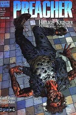 Preacher (Heft) 11 B-Cover
