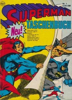 Superman Taschenbuch 1. Auflage (Ehapa, Tb.) Nr. 1-9