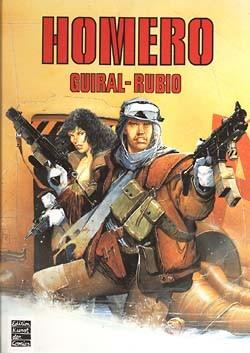 Homero (Edition Kunst der Comics, B.)