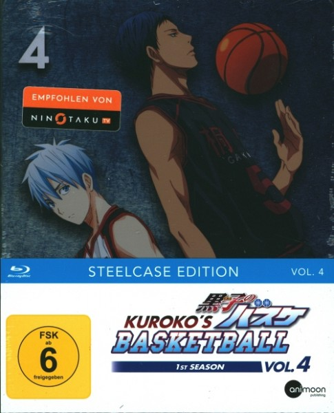 Kuroko's Basketball 1st Season Vol. 4 Blu-ray