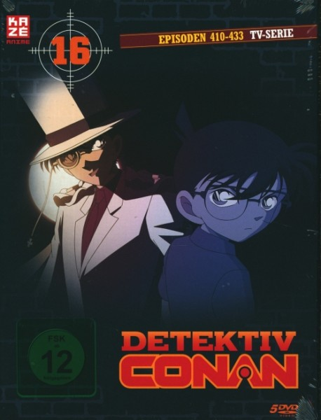 Detektiv Conan TV-Serie Box 16 DVD