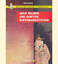 Jack Palmers gesammelte Kriminalfälle (Carlsen, Br.) Nr. 1-5 kpl. (Z0-2)