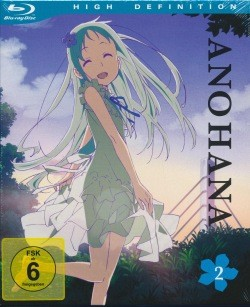 AnoHana Vol. 2 Blu-ray