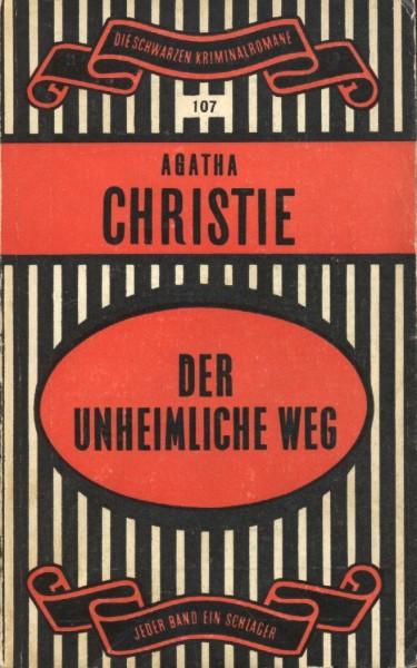 Schwarze Kriminalromane (Alfred Scherz Verlag, Tb.) Nr. 1-500