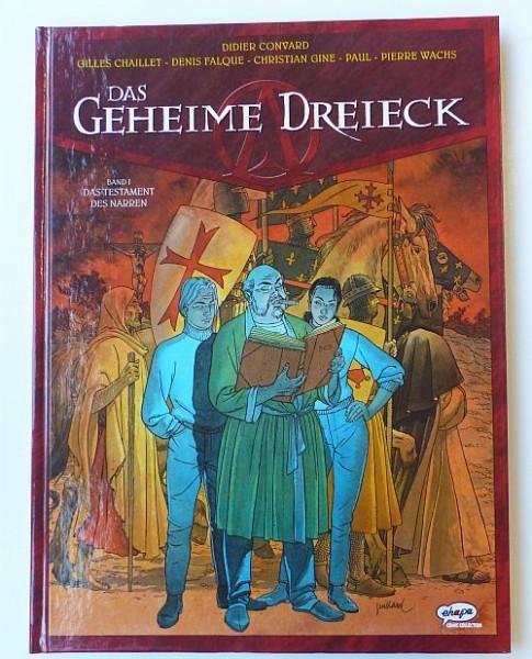 Geheime Dreieck (Ehapa, B.) Nr. 1-7 kpl. (Z1)
