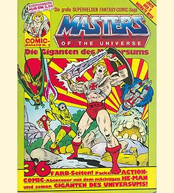 Masters of the Universe (Interpart, GbÜ.) Nr. 1-10