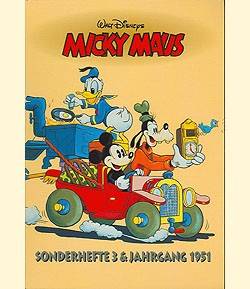 Micky Maus Reprintkassetten (Ehapa, Kassette) Sonderhefte 3