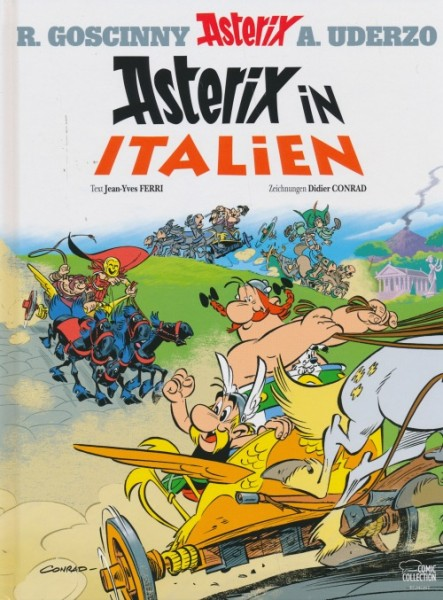 Asterix HC 37: Asterix in Italien