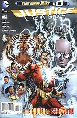 US: Justice League (2011) 00 1:50 Variant