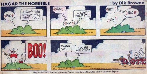 Zeitungsstrip (0890) Hagar the Horrible