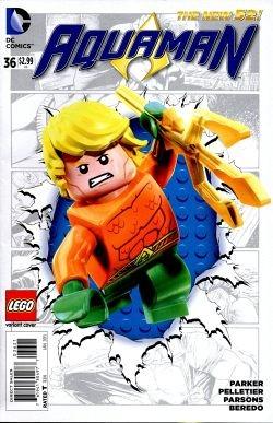 Aquaman (2011) Lego Variant 36