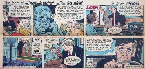 Zeitungsstrip (0886) The Heart of Juliet Jones