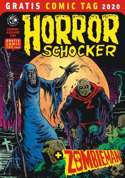 Gratis Comic Tag 2020: Horrorschocker & Zombieman