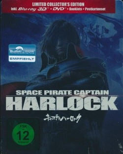 Space Pirate Captain Harlock Limited Collector's Edition Blu-ray