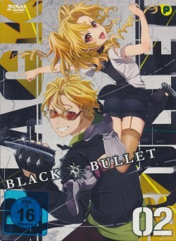 Black Bullet Vol.2 DVD Limited Edition
