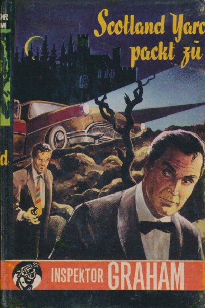 Inspektor Graham Leihbuch Scotland Yard packt zu (Bewin)