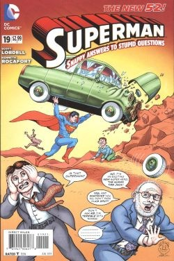 Superman (2011) 1:25 Mad Variant Cover 19