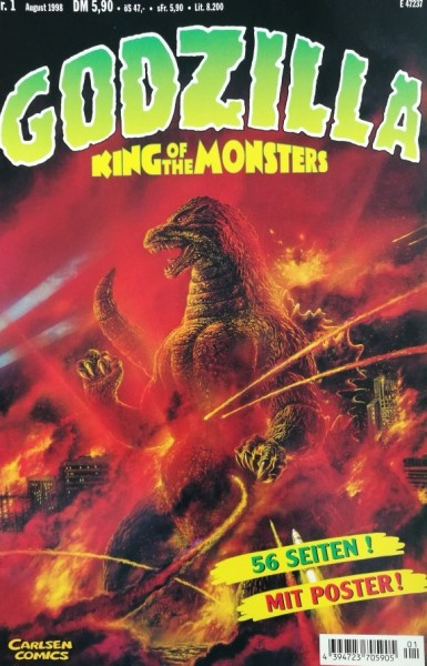 Godzilla (Carlsen, Gb.) Nr. 1-7