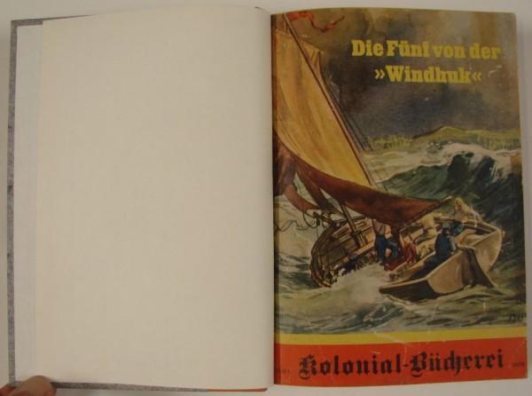 Kolonialbücherei (Steiniger, Vorkrieg) Nr. 1-88 kpl. (Z1-2/2) in 9 Bänden