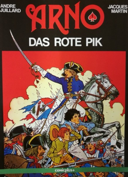 Arno (Comicplus, Br.) Nr. 1-3