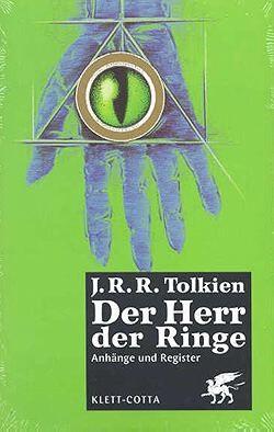 Der Herr der Ringe - Anhänge und Register
