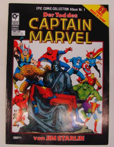Epic Comic-Collection (Condor, Br.) Nr. 1-5 kpl. (Z0-2)