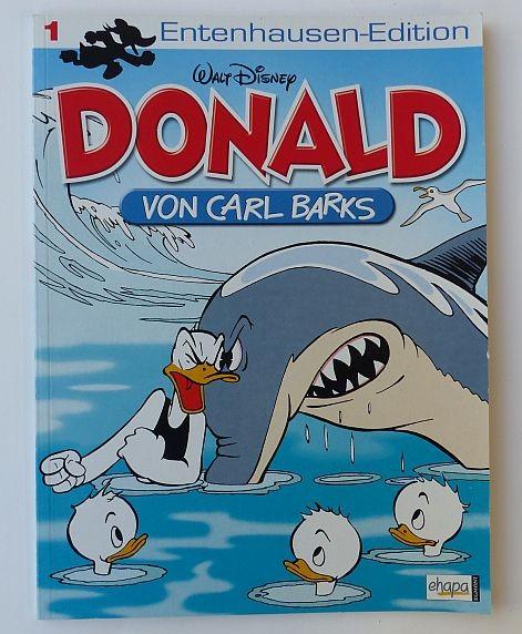 Entenhausen-Edition (Ehapa, Br.) Donald Nr. 1-65 zus. (Z2)