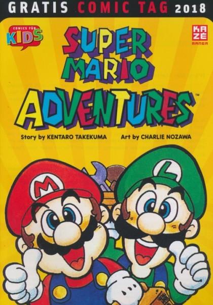 Gratis Comic Tag 2018: Super Mario