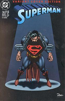 Superman 21 variant
