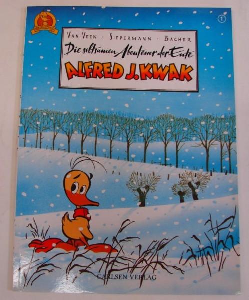 Seltsamen Abenteuer der Ente Alfred J. Kwak (Carlsen, Br.) Nr. 1-3 kpl. (Z1)