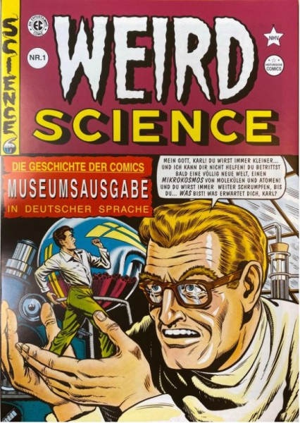 Weird Science (Hethke, Gb.) Nr. 1-3