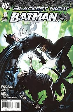 Blackest Night Batman 1-3