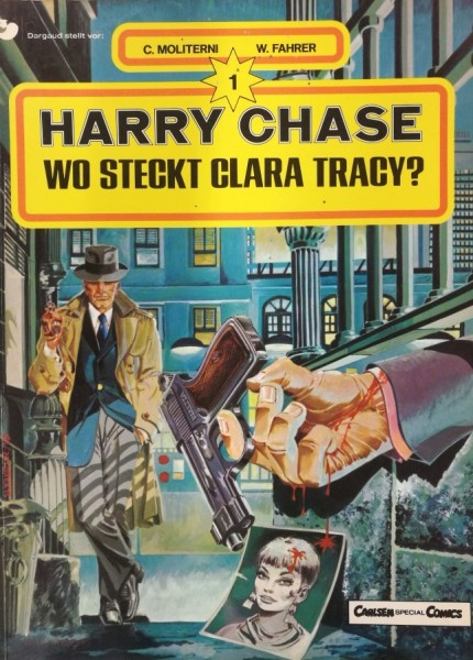 Harry Chase (Carlsen, Br.) Nr. 1-5 kpl. (Z2)
