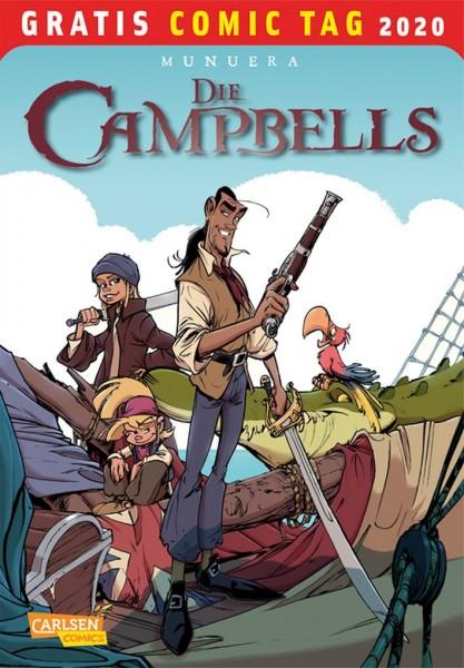 Gratis Comic Tag 2020: Die Campbells (05/20)