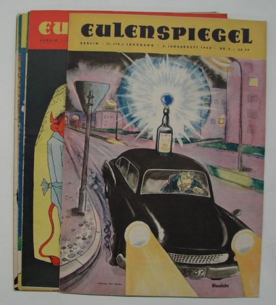 Eulenspiegel (Zeitschrift, GbÜ.) Jg. 1974 Nr. 1-52 kpl. (Z0-2)