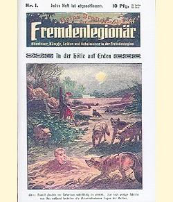 Heinz Brandt (Romanheftreprints, Vorkrieg) der Fremdenlegionär Nr. 1-85 (neu)